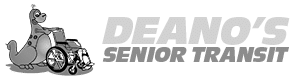 Deanos Senior Transit Logo