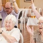 Seniors Group in Home Care